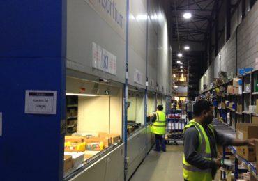 Secondhand Kardex Systems Vertical Storage Shuttle